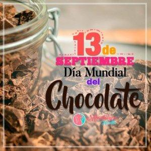 13 de septiembre dia mundial del chocolate