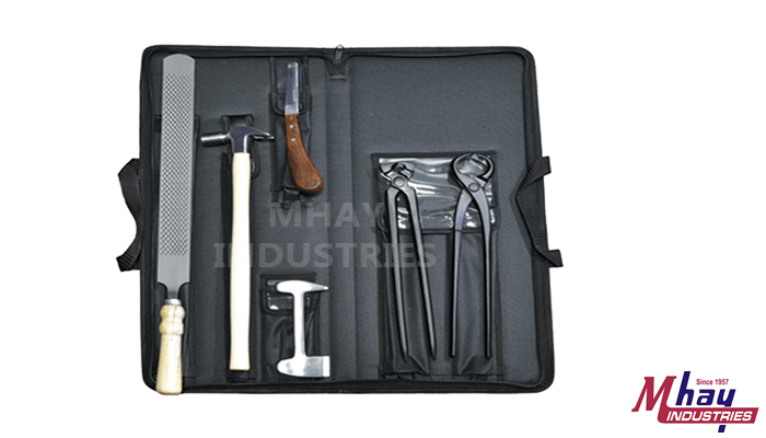 Farrier Tool Kit Black Steel Coated