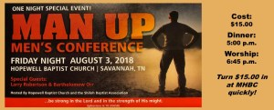 Man Up Men's Conference