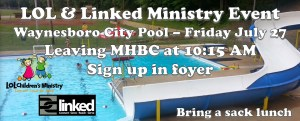 LOL & Linked Ministry Event