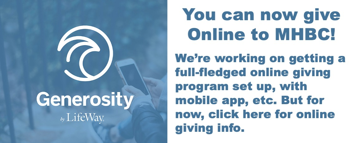 Online Giving by Generosity by Lifeway