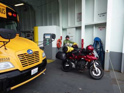 Ferry from Whidbey Island to Port Townsend