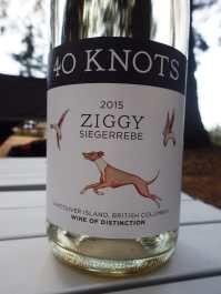 Great wine from 40 Knots!
