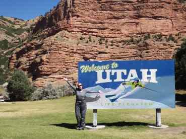 Back into Utah!