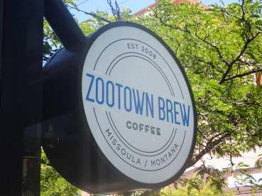 Missoula MT's Zootown Brew. A great little coffee shop.