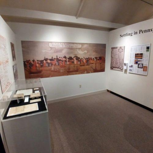 exhibit, Mennonite Heritage Center, Harleysville