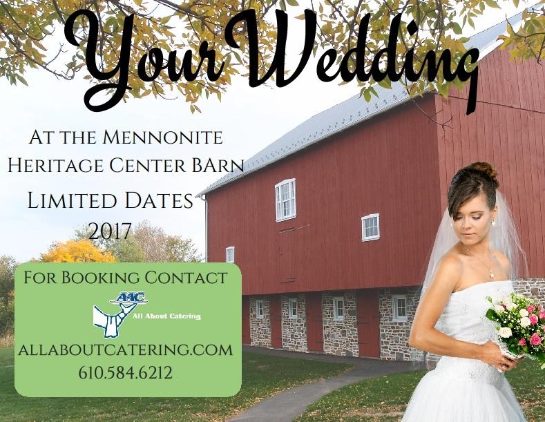 Mennonite Heritage Center wedding venue rental