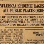 The Flu Epidemic of 1918: accounts from local diaries