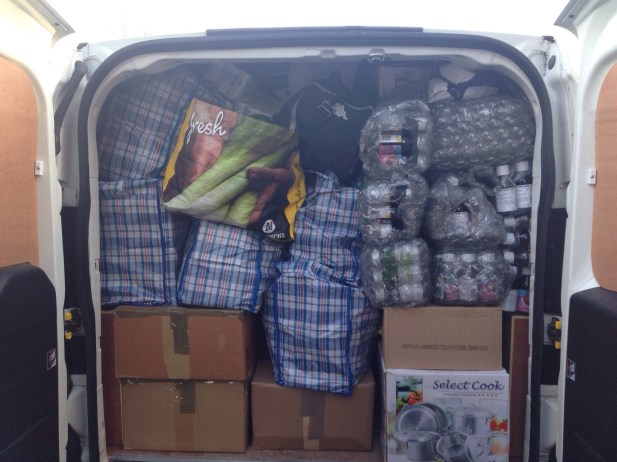 c4 - packed van