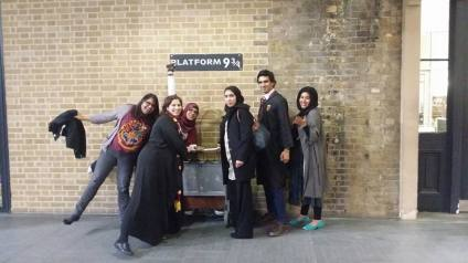 Time to catch the Hogwarts Express!