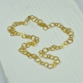 18ct gold necklace (£2150)