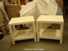 Parchment Side Tables