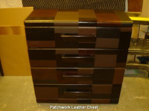 Patchwork Leather Chest