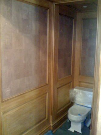 Shagreen Powder Room 1