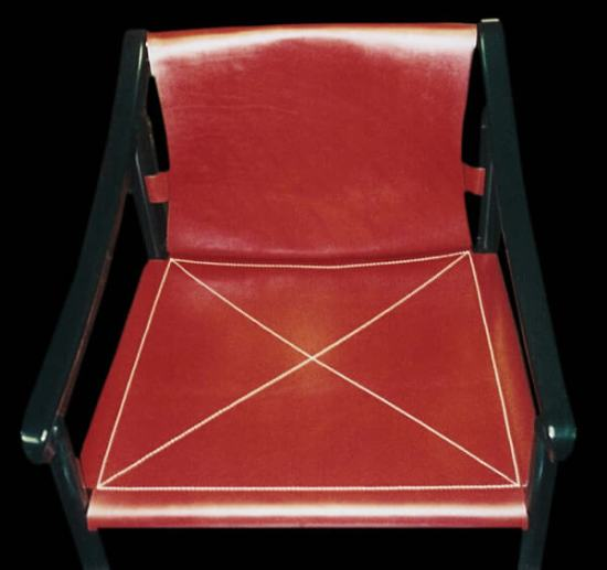 Stitched Leather Sling Chair_jpg