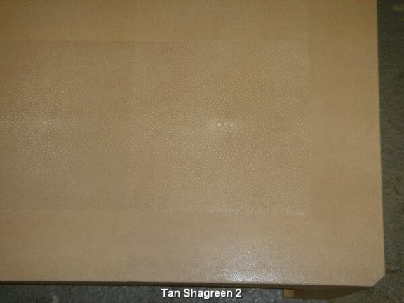 Tan Shagreen 2