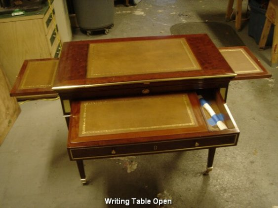 Writing Table Open
