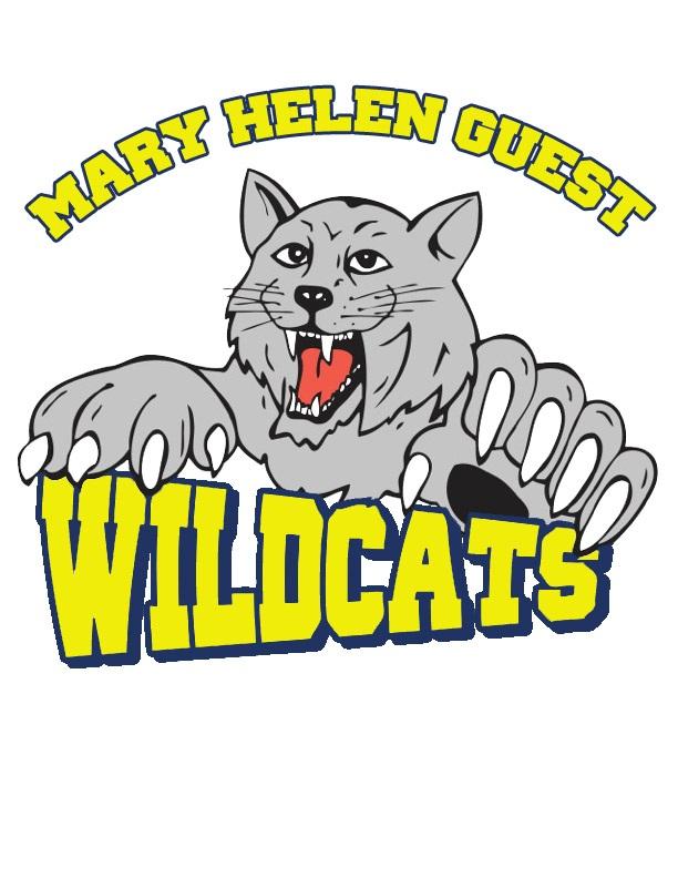 Mary Helen Guest Wildcats Logo