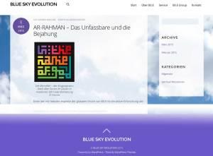 Blue Sky Evolution (BS.E) von Ulf Krause