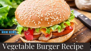 Photo of Vegetable Burger Recipe in Hindi