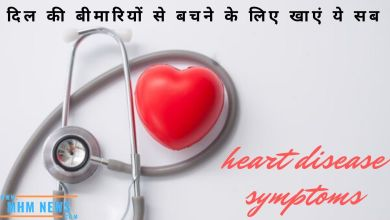 Photo of heart disease symptoms in Hindi