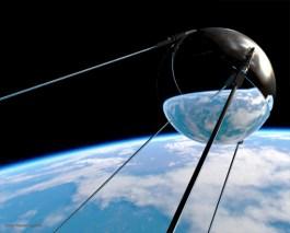 Soviet Sputnik I Satelite