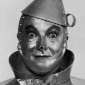 Jack Haley as the Tinman