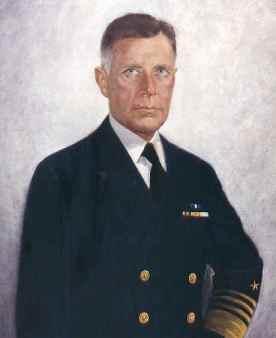 Admiral Raymond A. Spruance