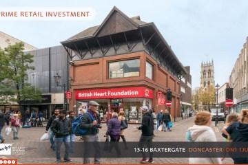 15-16 Baxtergate Doncaster brochure