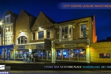 Ttonic bar Sunderland brochure