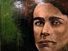 Le poète, Émile Nelligan (152 x 122 cm)