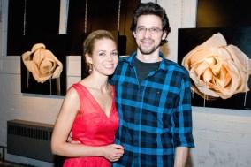 With my piano teacher, Tristan Longval-Gagné /// Avec mon professeur de piano.
