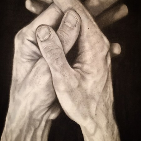 Hand drawing detail