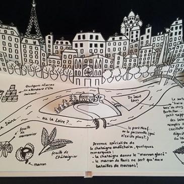 Valise projet définitif, pop-up Paris-Ardèche, ensemble