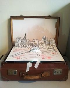 Valise d'artiste, maquette intermédiaire