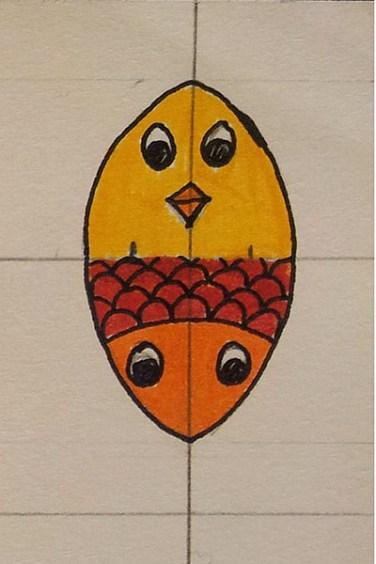 """Recherche pour la carte pop-up Rencontres attendues """"Un petit oiseau, un petite poisson..."""""""
