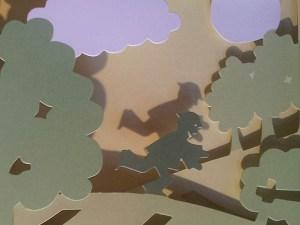 Le bonheur est dans le pré, détail diorama page 2