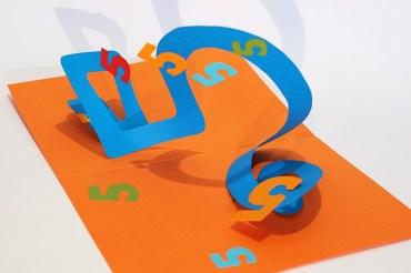 Atelier pop-up autour de la spirale en 8, forme avec le chiffre 5