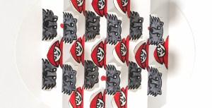 Carte pop-up Rencontres attendues en DIY, modèle colorié Chaperon-Loup