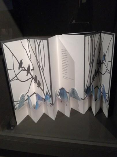 Musée royal de Mariemont, Belgique, exposition Le livre. Variations et déclinaisons IV. Livre d'artiste