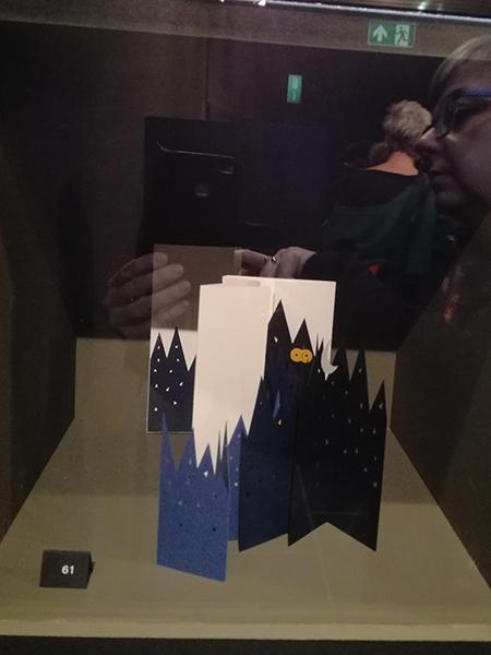 Musée royal de Mariemont, Belgique, exposition Le livre. Variations et déclinaisons IV, Livre Forêt de nuit
