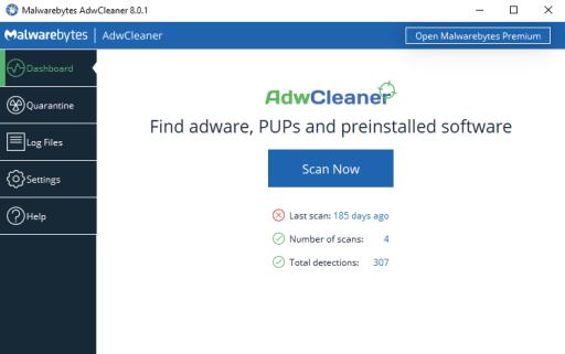 adw cleaner virus software