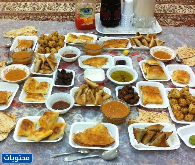 Foto della colazione del Ramadan