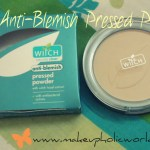 Witch Anti-Blemish Pressed Powder Review