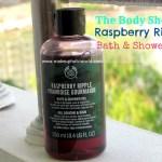 The Body Shop Raspberry Ripple Bath and Shower Gel