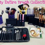 My Favourites : My Entire Makeup Brushes Collection