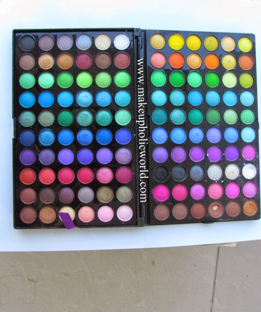 BH Cosmetics 120 Color Eyeshadow Palette-1st Edition Review