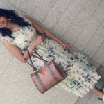 OOTD : Butterfly Printed Maxi Dress
