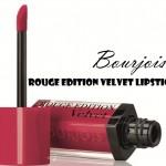 Bourjois Rouge Edition Velvet Lipstick – Ole Flamingo, Frambourjoise & Nude -ist
