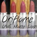 Oriflame The ONE Matte Lipsticks